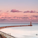 Roker pier sunset by Mike Ridley.