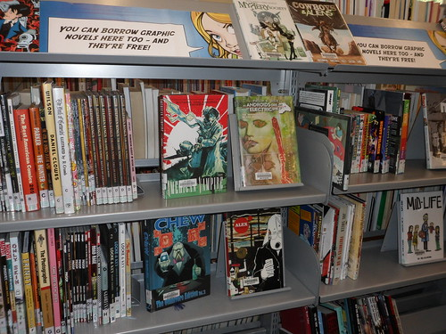 Graphic Novels at Kilbirnie Library