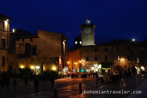 piazza del duomo Orvieto Italy
