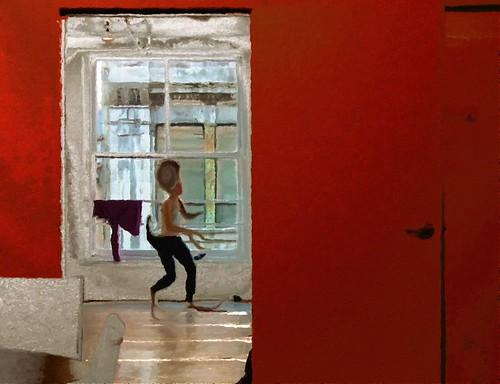 L'esprit de la danse à Montréal / El espíritu de la danza en Montreal (Digital Work Over Photography. 2012)