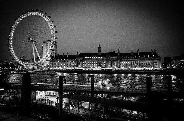 thames london eye