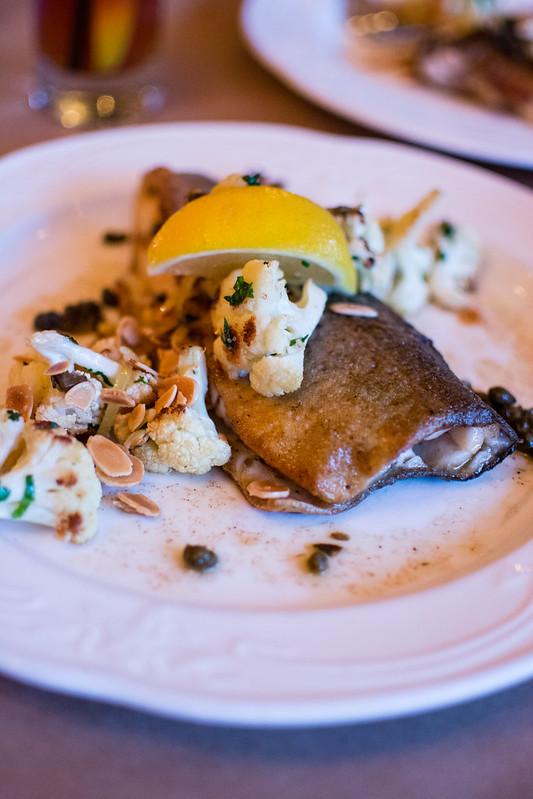 Trout at Brasserie Niche