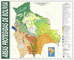Bolivia: Mapa de Areas Protegidas