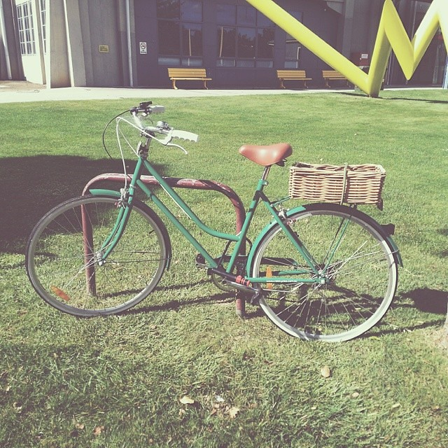 Another cute Reid bike at my uni #bikesoflaunceston #cutebike