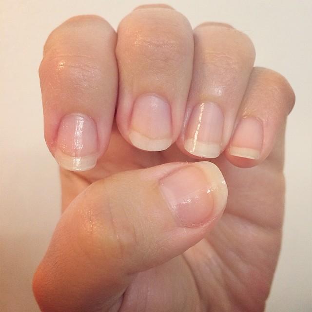 Naked #nails ;)