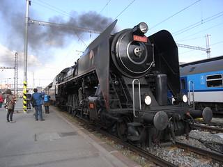 Czech 4-8-2 loco 475 III