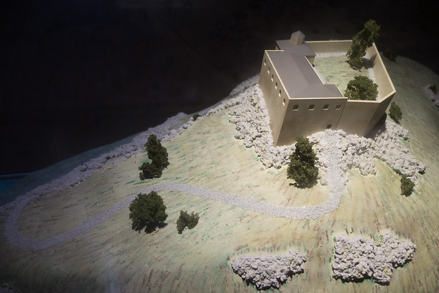 Photo:Diorama of early castle By quinet
