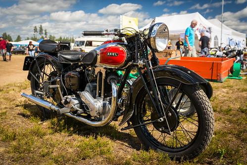 ariel 500cc 1937 veterandagene magnor