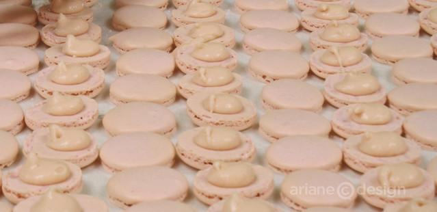 Macaron prep