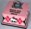 BC4122 - monster high cake toronto
