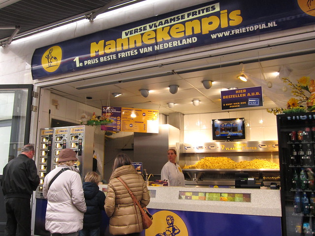 Mannekenpis fries