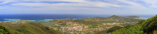 ocean life panorama mountain beach nature canon giant rainforest paradise hiking pic panoramic climbing tropical huge caribbean stmaarten towering 2012 picparadis picparadise hikingstmaarten