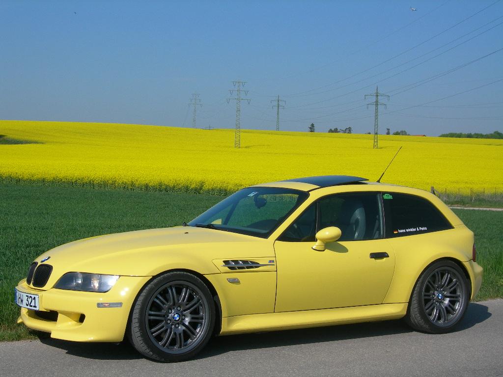 1998 M Coupe Dakar Yellow Gray Black Coupe