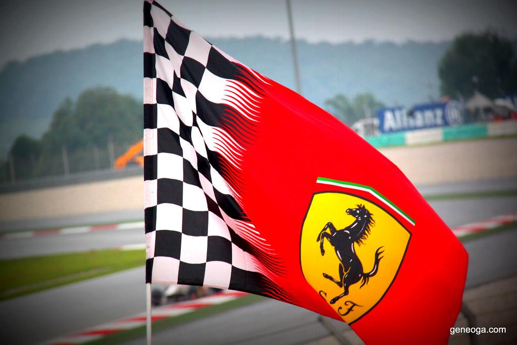 The Ferrari Flag