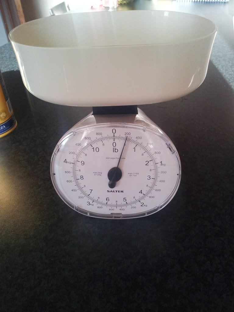 Sugar Weighed Out For Homebrew
