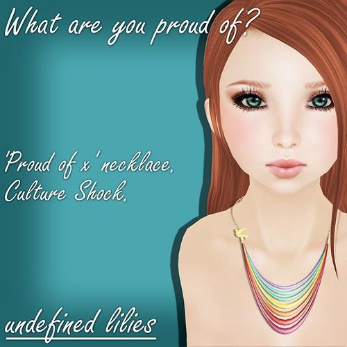 promo - proud of x