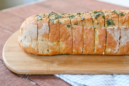 Garlic Herb Italian Bread