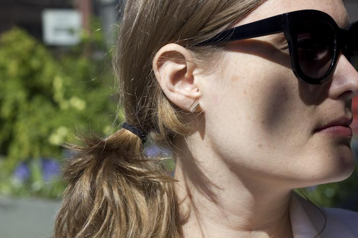 Amber's Earrings.