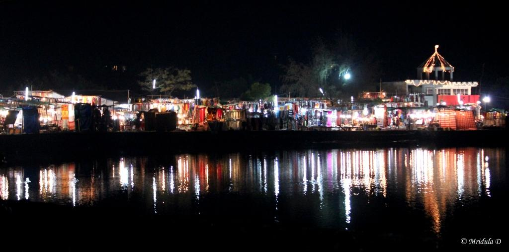 A Night Market at Goa, India
