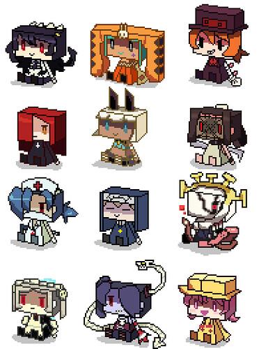 Skullgirls Pixel Fan Art by Pixiv's ido@5個たまったら消化
