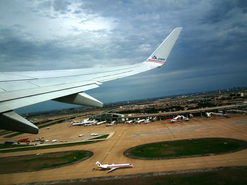Aerial Picture DFW airport