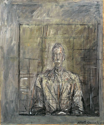 Alberto Giacometti - Portrait of Peter Watson [1953] by Gandalf's Gallery