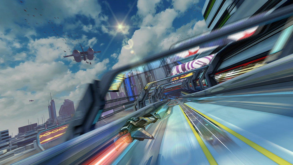 Wipeout HD Fury Tracks | Talon's Junction