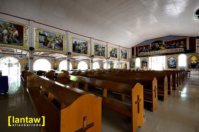 Larena Church Interior 2