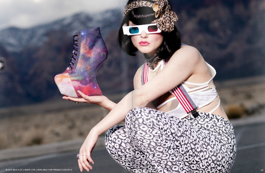 Jessi Jae Joplin's Personal Favorite: Jeffrey Campbell x Black Milk Clothing photo 6