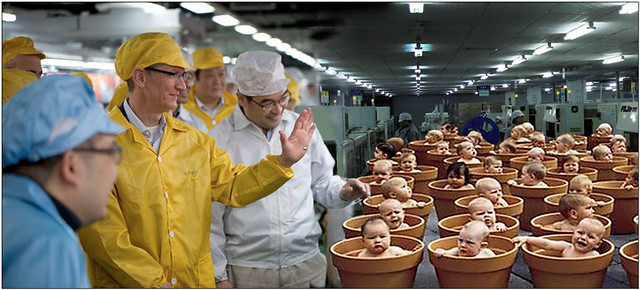 Tim Cook Visits Foxconn Worker Hatchery