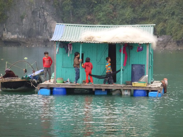 Some of the locals at Ha Long Bay