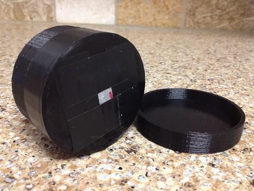 3D Printed Nikon F-mount Pinhol Lens