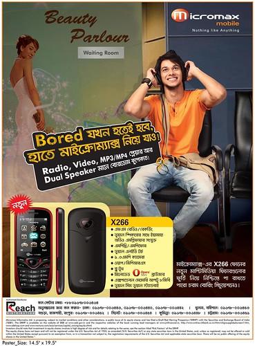 Micromax 18 X266 poster(bangla)