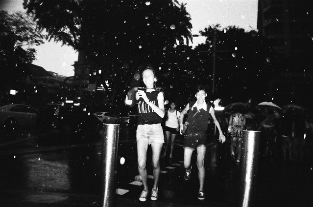 street lomography with flash by Danny Santos