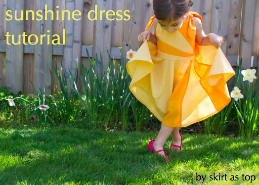 sunshine dress tutorial
