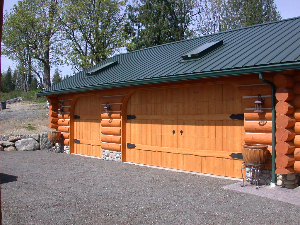 garages creasey log homes