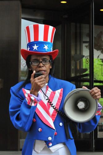 Adena Tartt portman protest