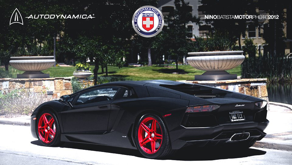 aventador x hre wheels x matte x red x black 6speedonline porsche forum and luxury car resource