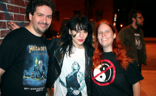 20110917 - Atari Teenage Riot @ 930 Club - 0 - Clint, Nic Endo, Carolyn - (by AE) - 6304220437_b4cf79874f_b