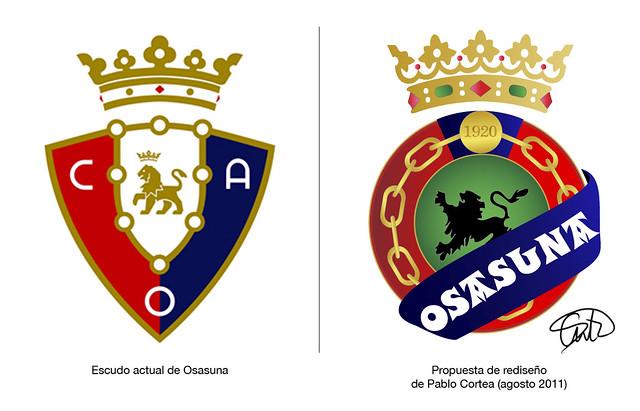 foto escudo osasuna: