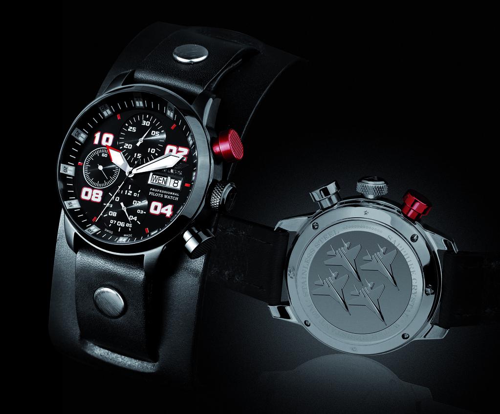 fdf2e0ce6d6 Boxfox1.com Aviator Professional Edition Watch