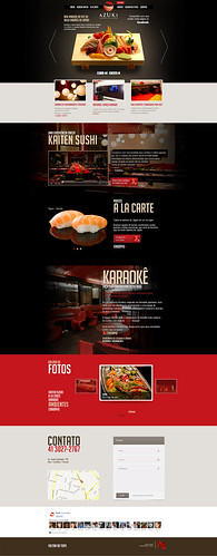 Layout site - Azuki (ondepage) by chambe.com.br
