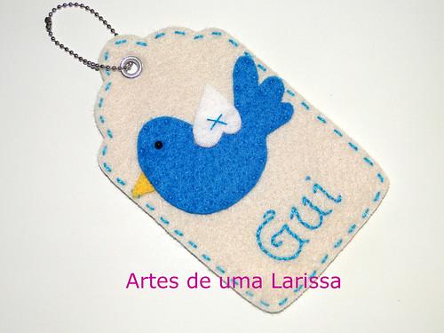 Tag Passarinho by Artes de uma Larissa