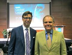 Accenture Canada CIO Wayne Ingram and Author Don Tapscott