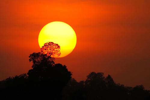 [フリー画像素材] 自然風景, 朝焼け・夕焼け, 太陽 ID:201206242000
