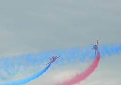 Red Arrows performing 11