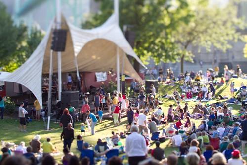 Catheral Park Jazz Festival