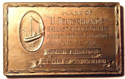 u deutschland medal