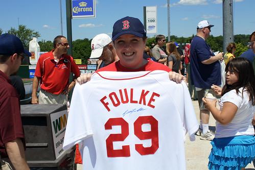 Thanking Foulke