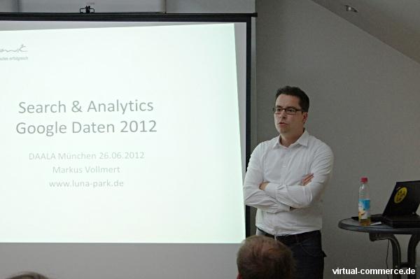 Markus Vollmert (luna-park) über Probleme bei der Analyse des organischen Traffics